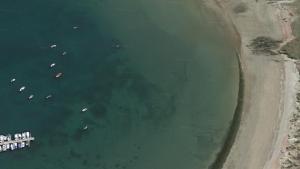 Playa de A Concha, en Ortigueira