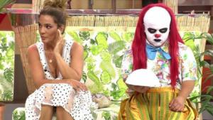 Raquel Bollo estaba nerviosa por culpa de Payasín