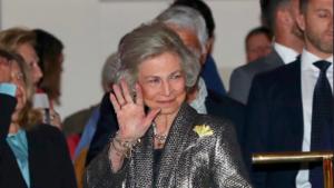 Reina Sofia en el concert de celebració dels 80 anys d'EFE