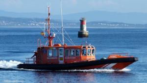 Salvamar Sargadelos, embarcación de Salvamento Marítimo