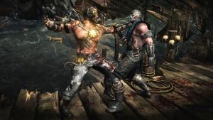 Secuencia de inicio de fatality del videojuego