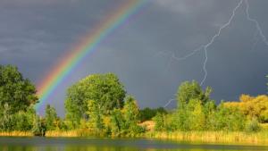 Segons la dita popular, al maig cada dia cau un xàfec en algun punt de Catalunya
