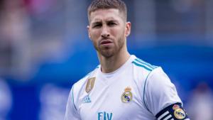 Sergio Ramos con el Real Madrid