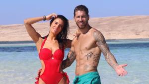 Sergio Ramos y Pilar Rubio disfrutando de Egipto