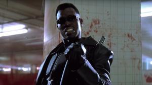 Snipes como Blade en la trilogía original