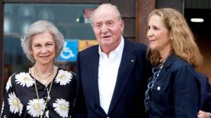 Sofía y Juan Carlos de cena en Sanxenxo