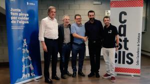 Sorea i la Coordinadora de Colles Castelleres de Catalunya han renovat el conveni de col·laboració