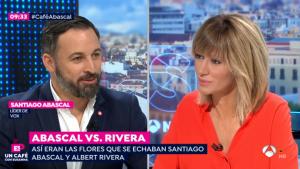 Tensión entre Susanna Griso y Santiago Abascal