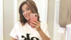 Toñi Moreno en su primera imagen embarazada
