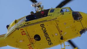 Tots els efectius dels bombers de Dénia, pertanyents al Consorci Provincial d'Alacant, han hagut d'intervindre en l'incendi