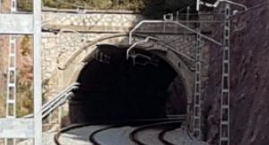 Túnel on va passar la història de la Mina dels Morts