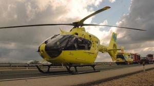 Un helicóptero medicalizado de los Servicios de Emergencias 112 Castilla y León