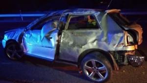 Un reusenc, amb els seus dos fills, s'han accidentat a l'A-7