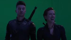 Una de las tomas falsas de 'Vengadores: Endgame'