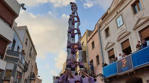 3de9f descarregat de la Colla Jove Xiquets de Tarragona a la festa major de la Canonja