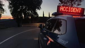 Accident trànsit Mossos