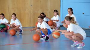 Activitat del Campus de Bàsquet del CB Morell