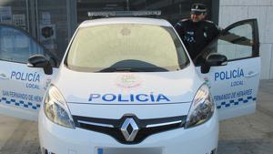 Agentes de la Policía Local de San Fernando llevaron al menor a la comisaria de Torrejón donde le esperaba su padre