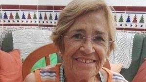 Ana Ibáñez, de 86 años, desapareció tras un despiste de su marido