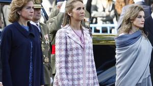 Apenas hay contacto entre la reina Letizia y sus cuñadas