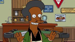 Apu es un personaje indio de la legendaria serie de animación 'Los Simpsons'