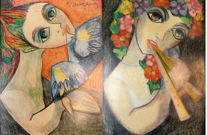 Aquestes dues obres són les que més agradaven a la montblanquina Maria del Carme Palau Ferré, germana de l'artista
