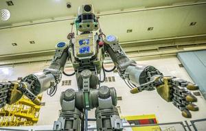 Arriba el primer robot humanoide rus a l'Estació Espacial Internacional