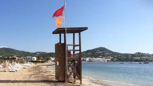 bandera vermella