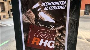 Campanya al carrer contra Ràdio Horta de Guinardó