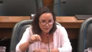 Carmen Rouco, la regidora de Vox a Saragossa
