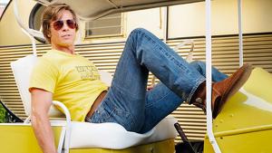 Cliff (Pitt) protagoniza una de las secuencias más comentadas del film