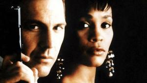 Costner y Houston en 'El Guardaespaldas' (1992)