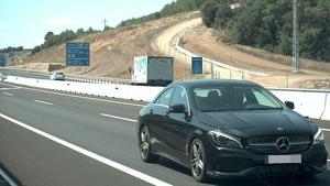 Denuncien un conductor per circular a 171 km/h en un tram limitat a 80 km/h, al Pla de l'Estany