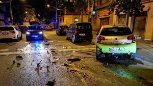 Denuncien un home que va fugir després d'un atropellament a Nou Barris
