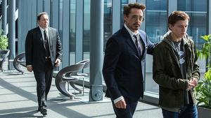 Downey Jr. y Holland se reunieron tras la ruptura de Marvel con Sony