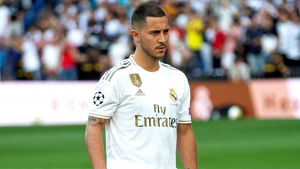 Eden Hazard del Reial Madrid