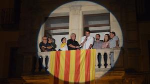 El cantant reusenc Fito Luri va pronunciar el pregó de la Festa Major de Cornudella de Montsant.