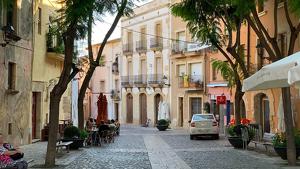 El carrer Ample, al nucli antic de Torredembarra, on tindrà lloc l'acte.