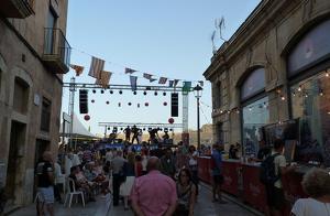 El carrer del Cós del Bou, en una de les anteriors edicions de la Festa Gitana.