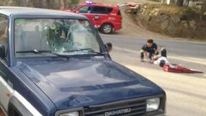 El ciclista ha estat envestit per un totterreny a Cassà de la Selva