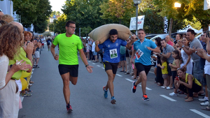 El Concurs de Portadors de Sacs d'Avellanes es ja un esdeveniment típic de la Fira.