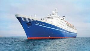 El creuer de luxe on viatjava la parella es deia Marco Polo