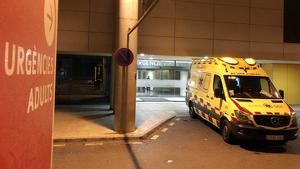 El joven herido fue trasladado al hospital de Son Espases