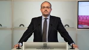 El polític tarraconense Alejandro Fernández serà el cap de llista del PP a Catalunya
