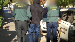 El presunto autor de los hechos ha sido detenido por la Guardia Civil