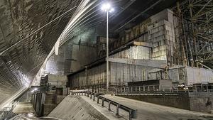 El sarcófago de Chernóbil en riesgo de colapsar