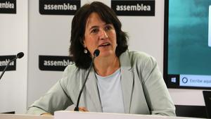 Elisenda Paluzie, presidenta de l'ANC i promotora de la iniciativa