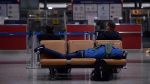 Els indigents no són benvinguts a l'Aeroport del Prat