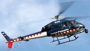 Els Mossos s'han desplaçat fins el punt de la recerca amb 6 dotacions i un helicòpter