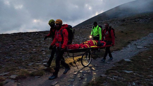 Evacuació de muntanya - Bombers